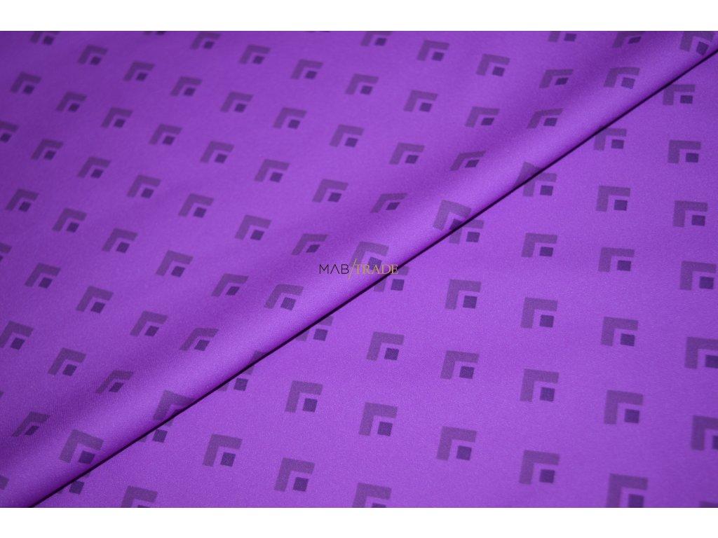 Softshell  tenký Fialový vzor Kód  7111-1401