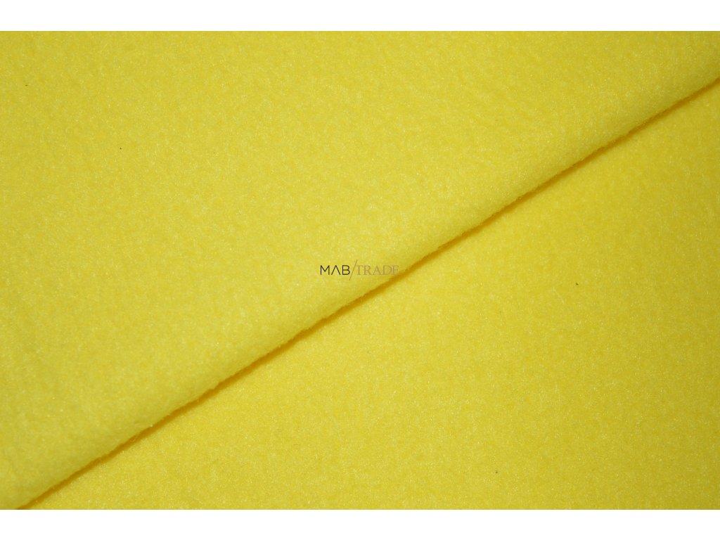 FLEECE  sytě Žlutá  Kód 6430-05312