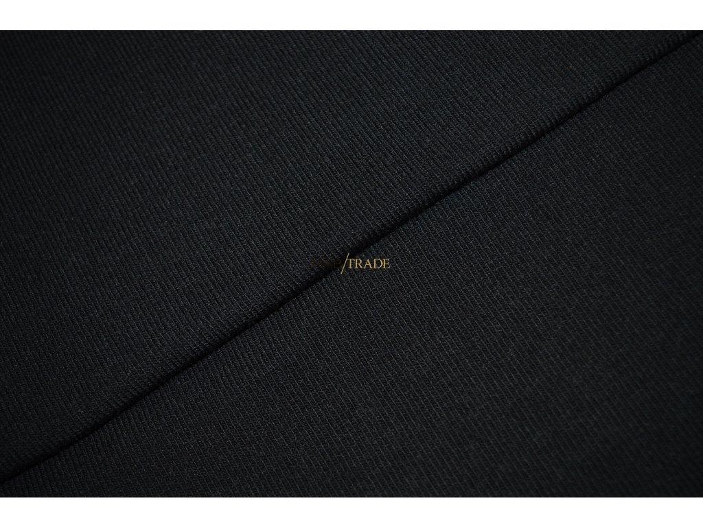 Viskózový úplet Office Černý Kód 9115-4002
