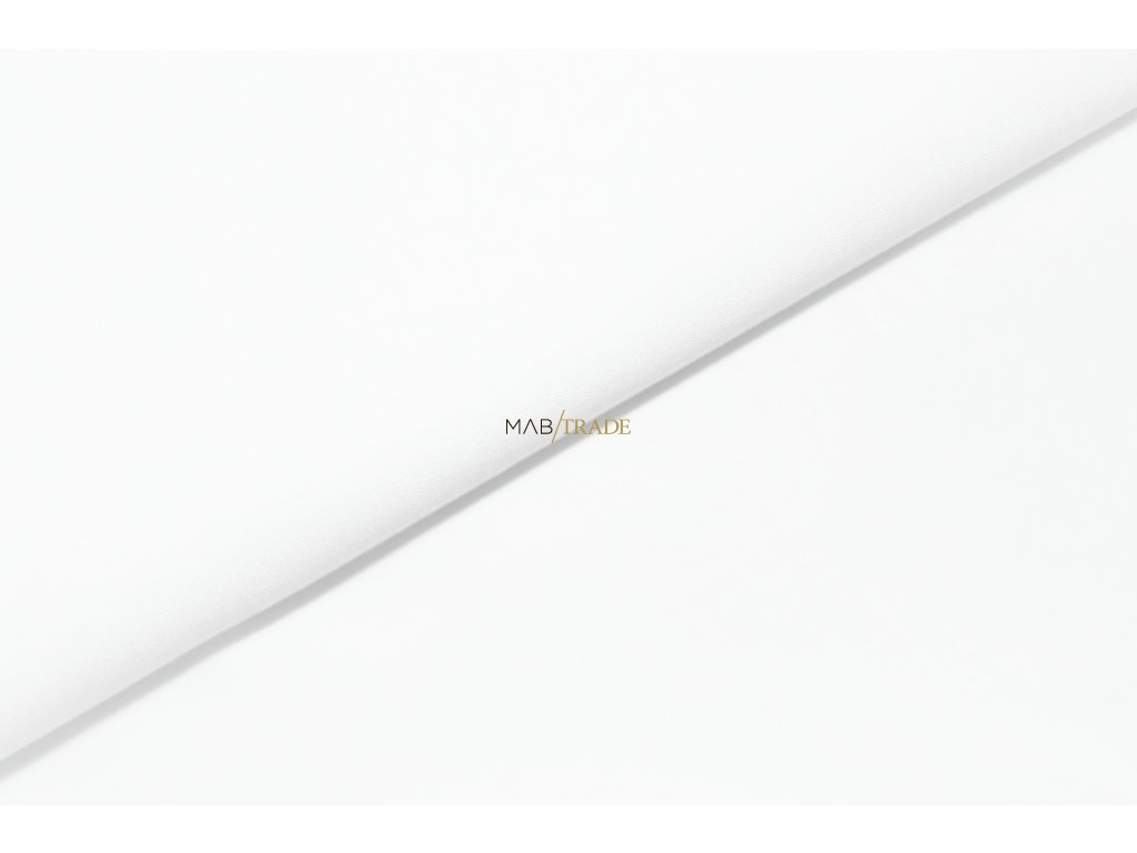 PLÁTNO 100% Bavlna 180 g sanforizovaná Bílá Kód 1028-882/S