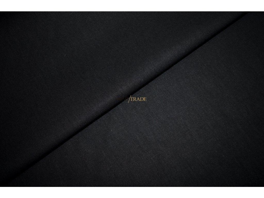 PLÁTNO 100% Bavlna Černé   Kód 1032-4002/T