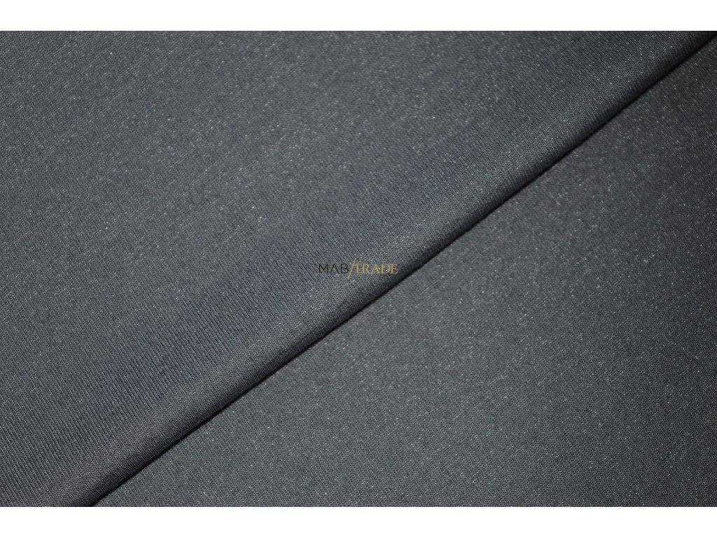 Viskózový úplet MONAKO - jemně třpytivý - Šedý Kód 9114-3002