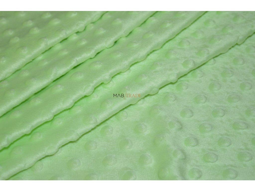 MINKY  KULIČKY světle Zelená Kód 8908-889