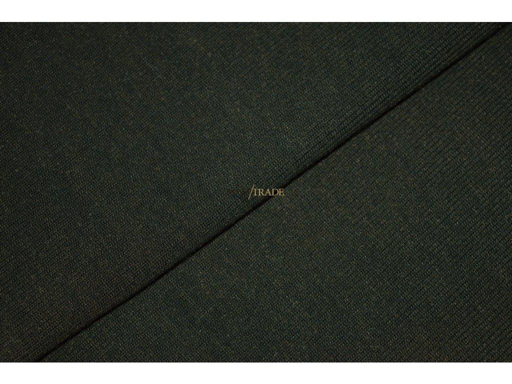 Elastická teplákovina tmavá Khaki Kód 4216-2801