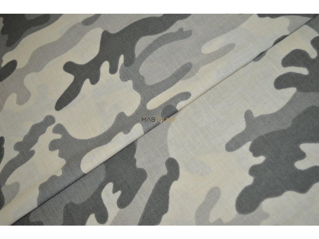 PLÁTNO 100% Ba Army šv. Žlutá Kód 1031-8801