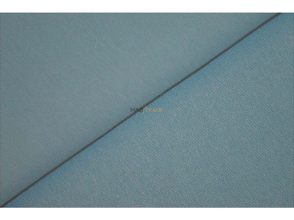 Elastická teplákovina Stone blue Kód 4216-1810