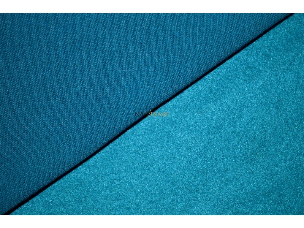 Elastická teplákovina Smaragdová Kód 4286-4834