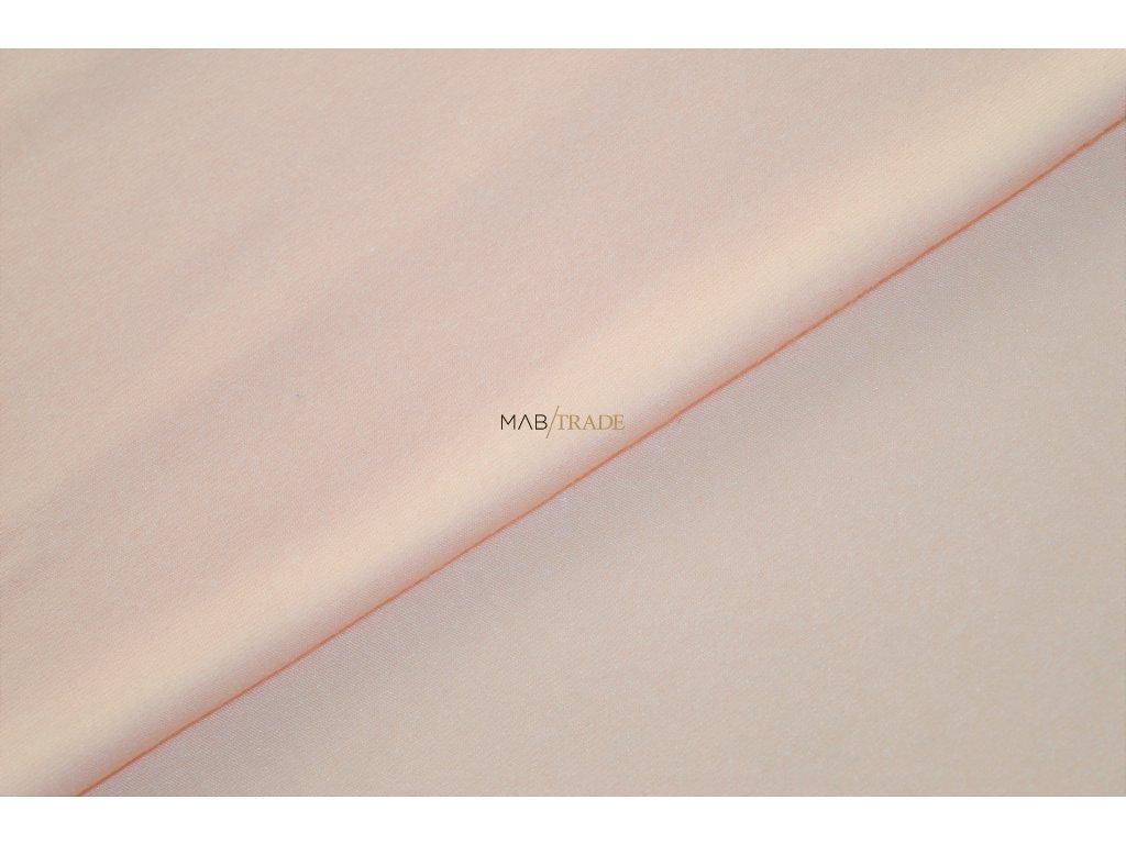 Bavlněný úplet - elastický jednolícní MICRO MODAL Meruňková Kód 2560-0701