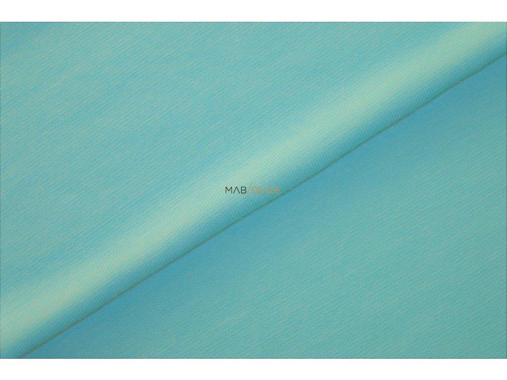 Bavlněný úplet - elastický jednolícní MICRO MODAL světlá Tyrkysová Kód 2560-2100