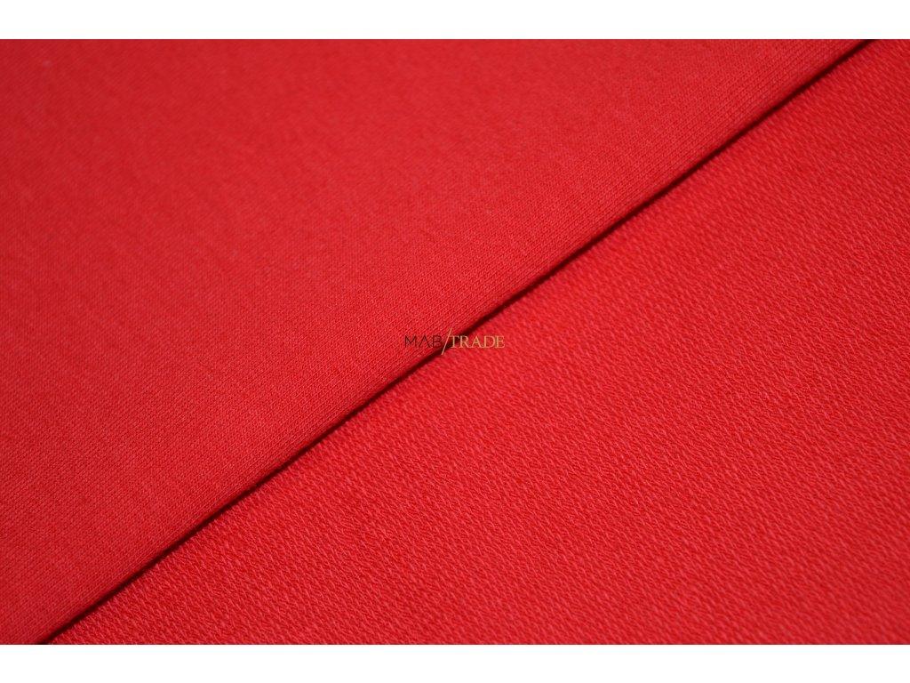 Elastická teplákovina Červená Kód 4216-1102