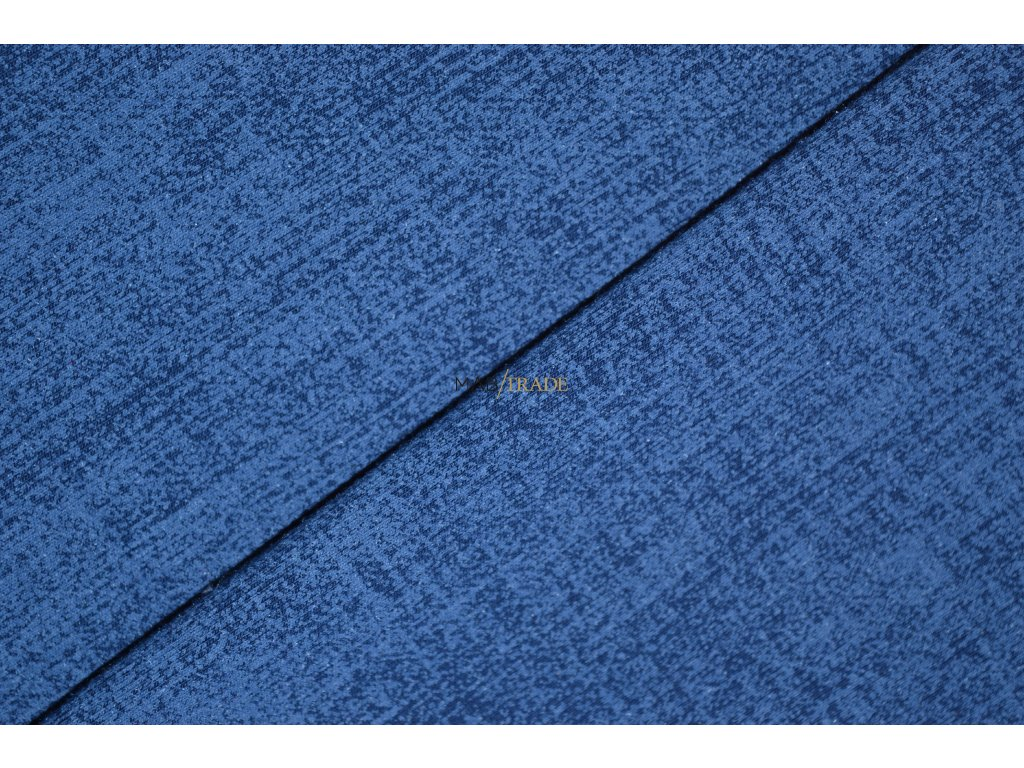 Teplákovina elast. tisk Jeans Denim Kód 4842-2002/C