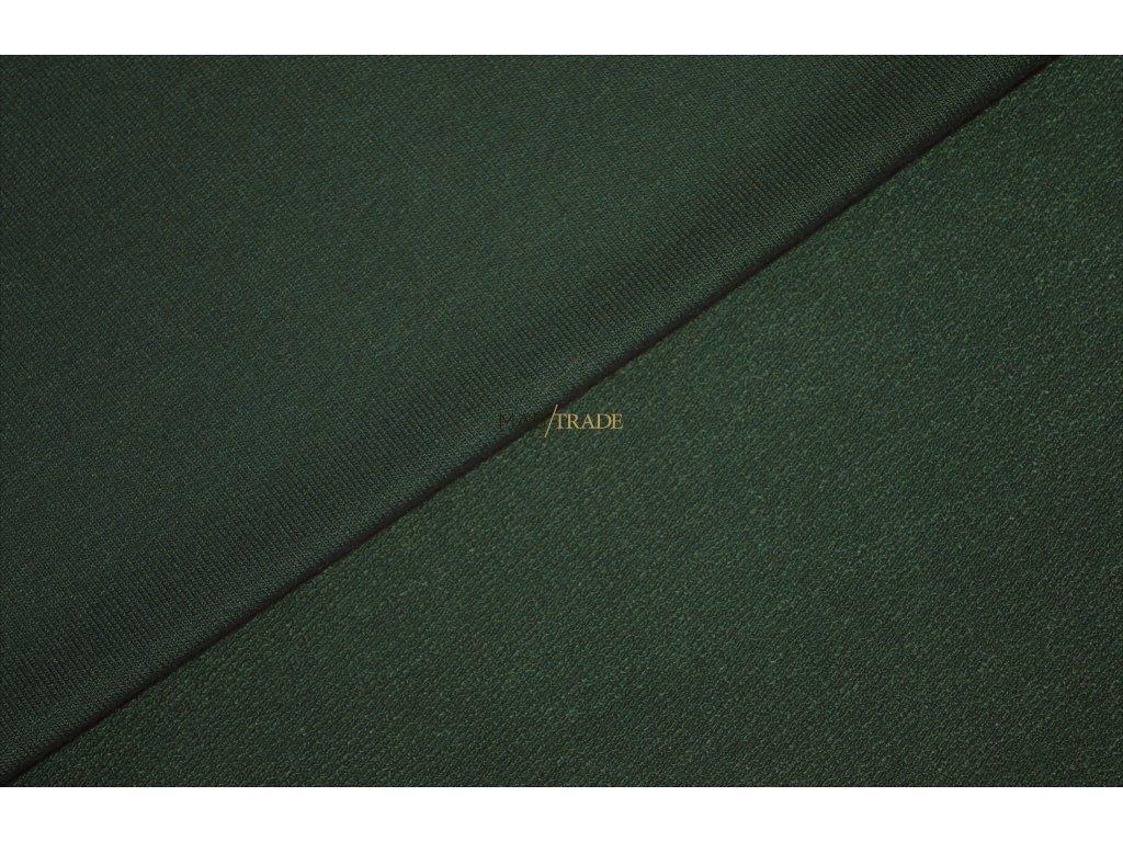 Elastická  teplákovina Viskózová  nepočesaná  Khaki Kód 4229-2808