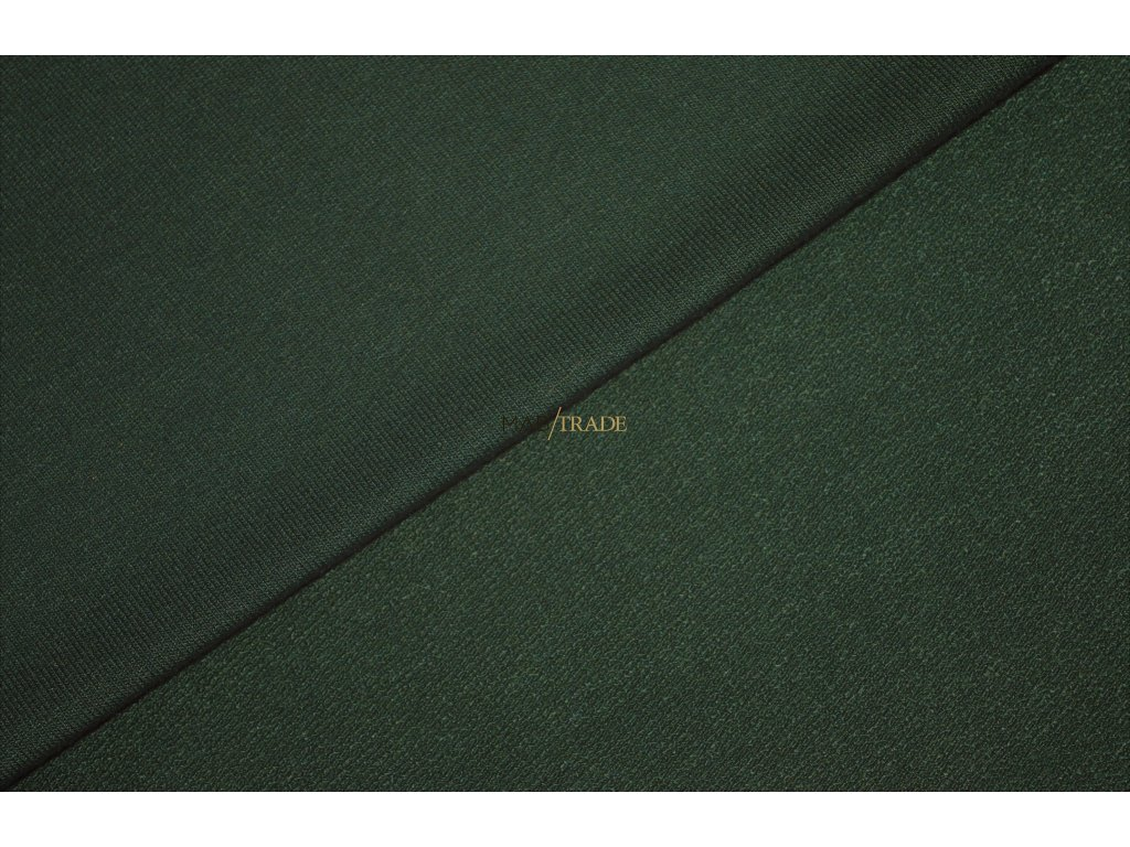 TEPLÁKOVINA Viskózová nepočesaná s elastanem Khaki Kód 4229-2808