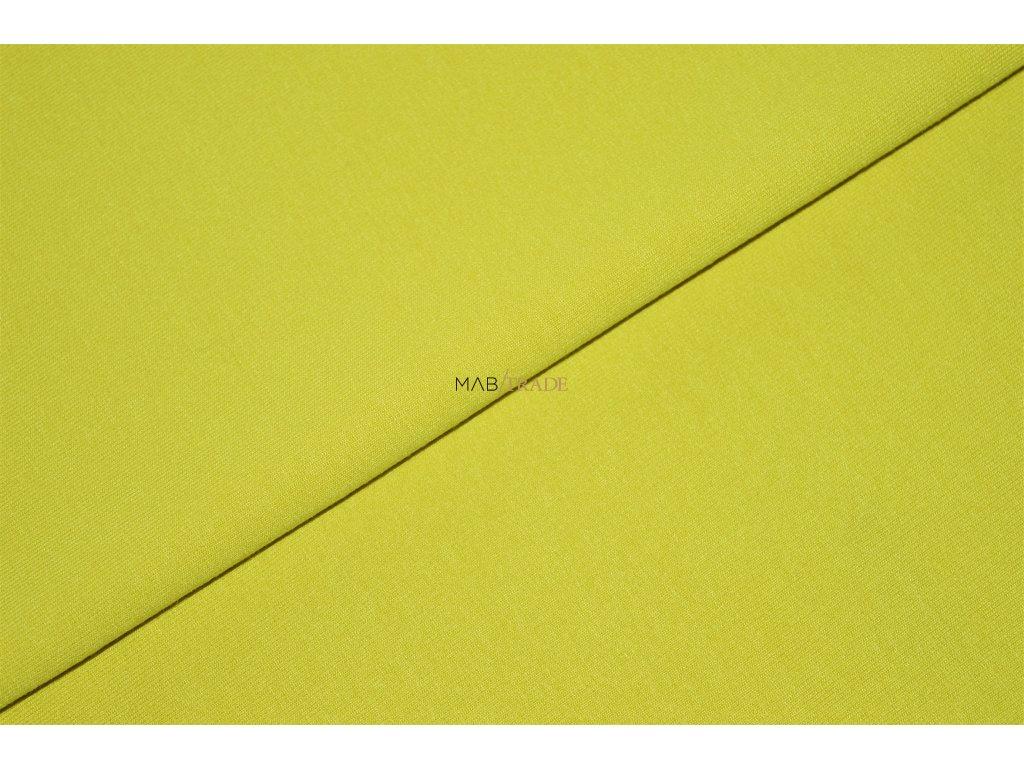 Viskózový úplet SILKY Žlutý Kód 4230-1350