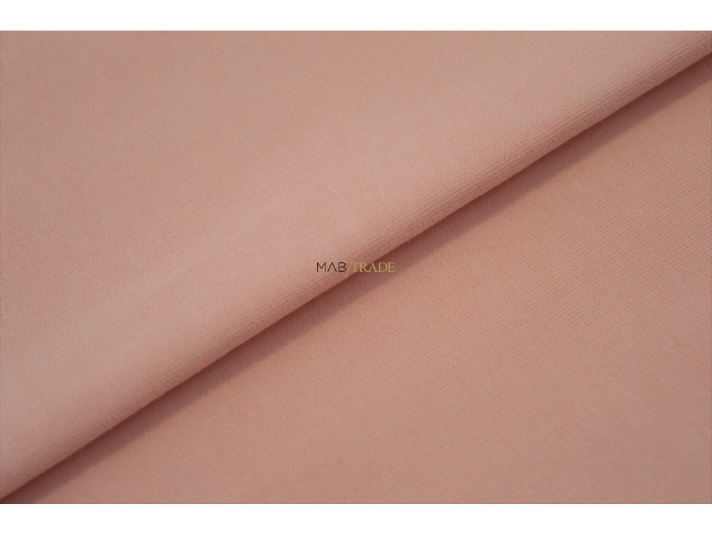 Elastická teplákovina Růžová Kód 4216-0903