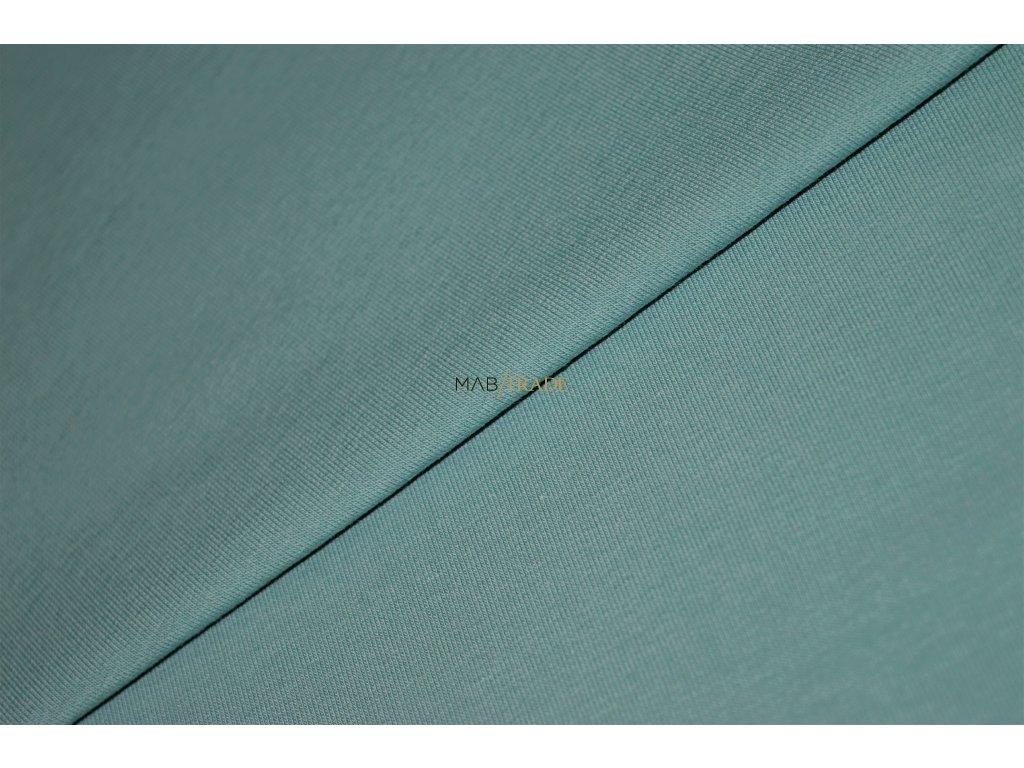Elastická teplákovina pastel Zelená Kód 4216-1049