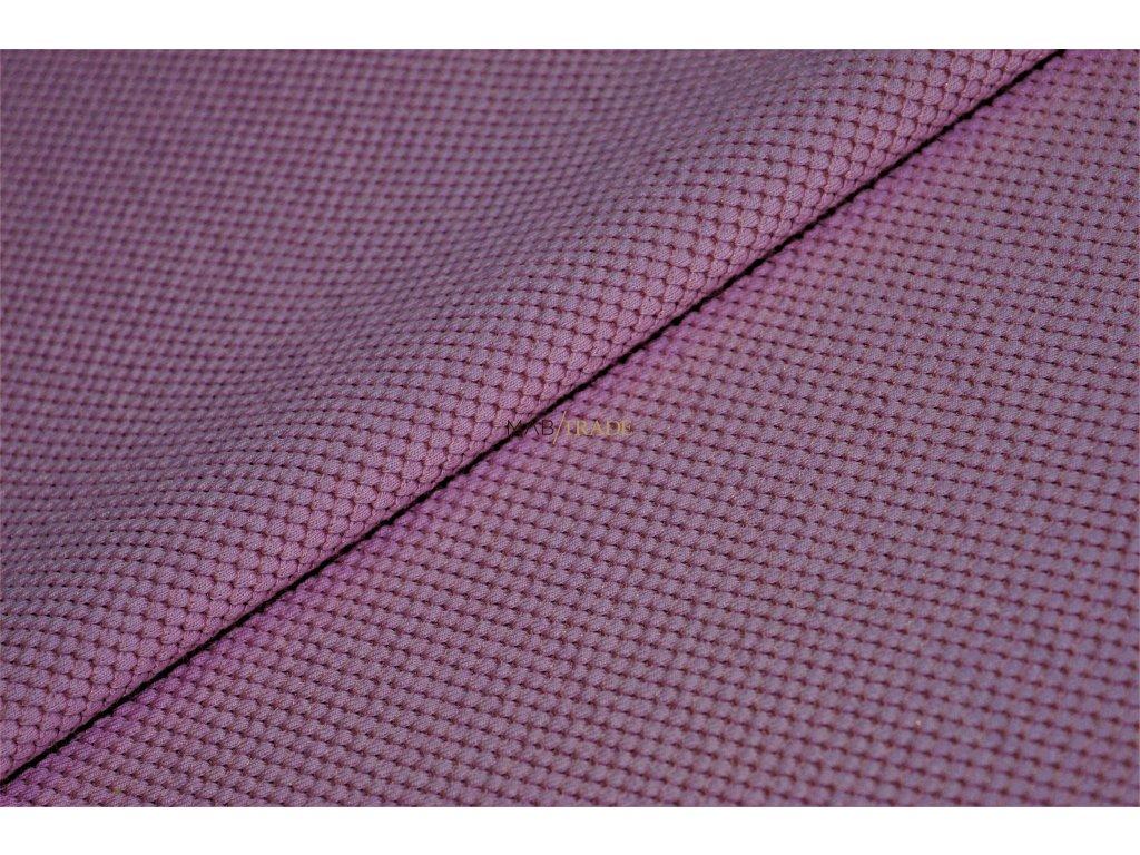 Elastická teplákovina 3D š.150cm Mauve Kód 4290-1605
