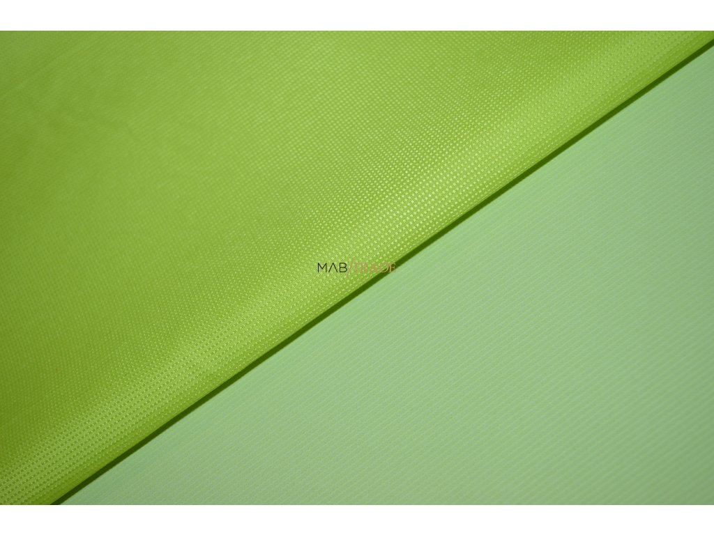 Šusťákovina KENT limetově Zelená Kód 7023-88644