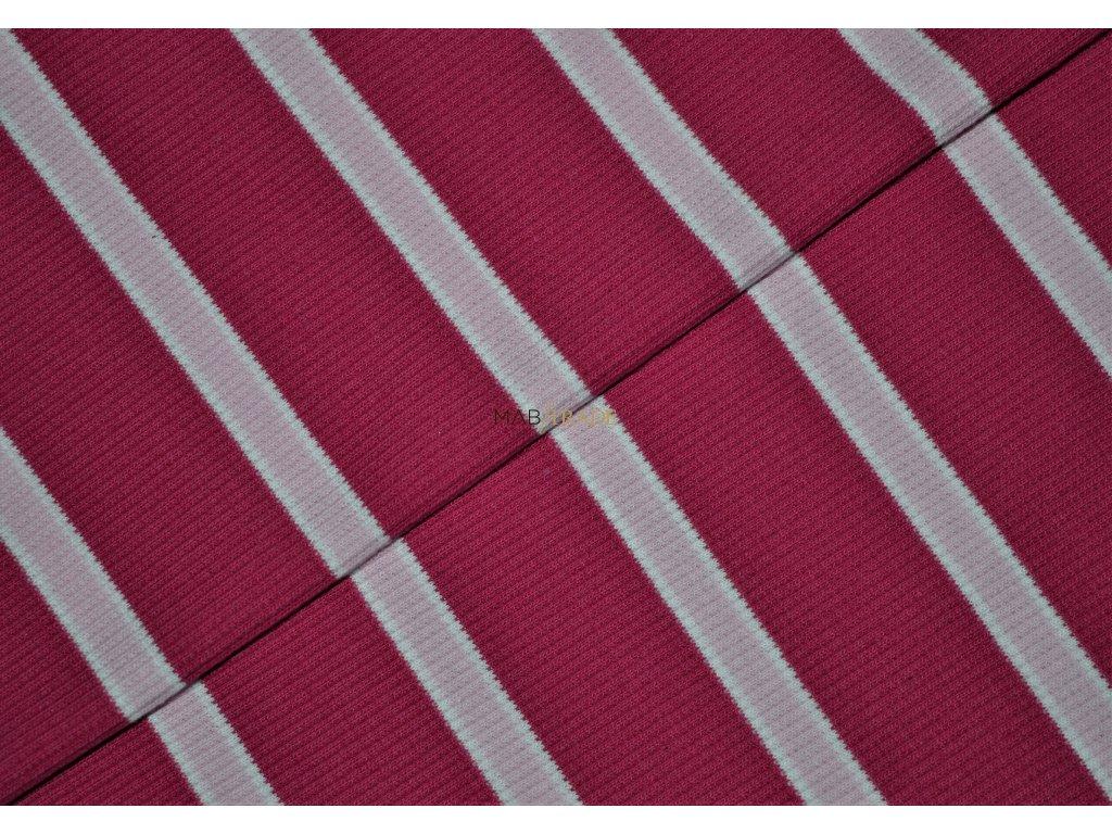RIB 2x1-Pruh Růžový  Kód 6212-0203