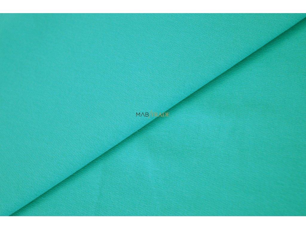 Elastická teplákovina tmavý Mint Kód 4216-2410