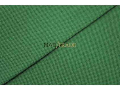 Bavlněný úplet - Piké  Ba/El Zelená Kód 5201-24502