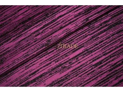 Svetrovina Slub Černo Růžová Kód 6414-2005