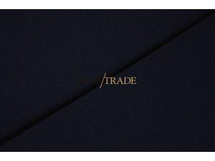 Bavlněný úplet - jednolícní 100% Bavlna tmavě Modrá Kód 2200-2004