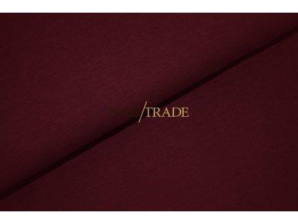 Jednolíc 100% Bavlna Tmavá vínová Kód 2200-12992