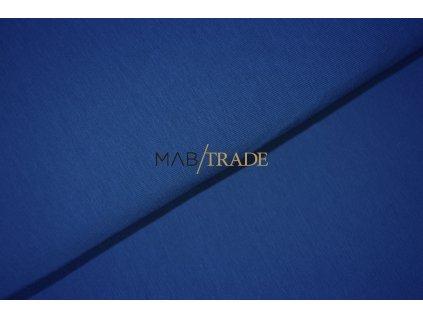 Bavlněný úplet - jednolícní 100% Bavlna královská Modrá Kód 2200-1902