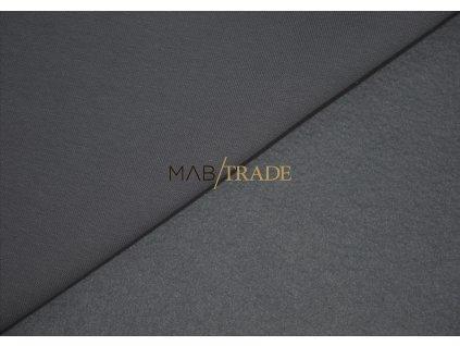 Teplákovina bavlna/polyester Světle šedá Kód 4220-291185