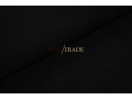 Teplákovina 100% Bavlna počesaná Černá Kód 4223-4002