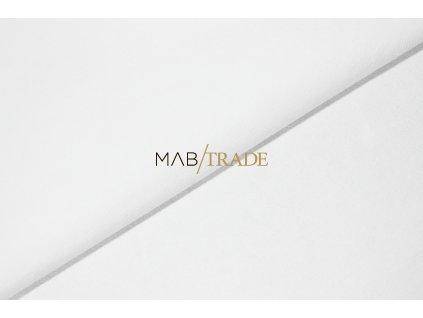 Elastická teplákovina s polyesterem Bílá Kód 4276-0101