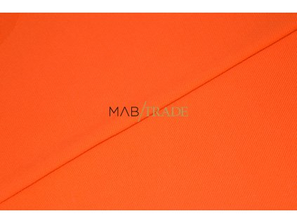 Piké 100% Bavlna Oranžová Kód 5200-0601