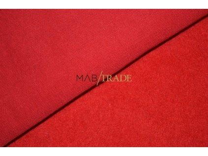 TEPLÁKOVINA Počesaná červená Kód 4220-8859