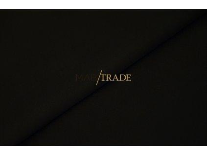 Bavlněný úplet - elastický jednolícní MODAL Černá Kód 2550-4002