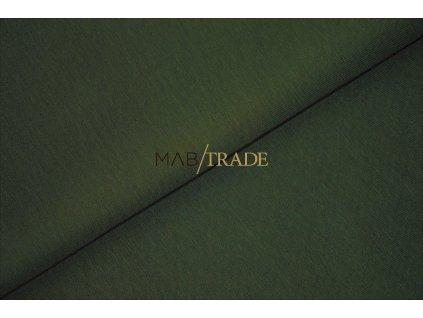 Elastická teplákovina s polyesterem Khaki Kód 4276-2802