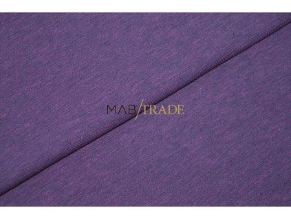 Elastický jednolíc fitness melír Violet Kód 2966-15021