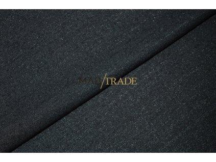 Viskózový úplet  Monako - jemně třpytivý - Černý Kód 9114-4002
