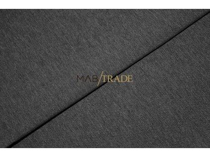 Funkční textílie - plášťovka - SILVER tmavě Šedá - melír Kód 7024-5007