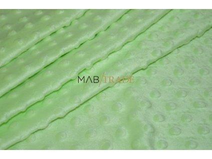 MINKY světle Zelená Kód 8908-889