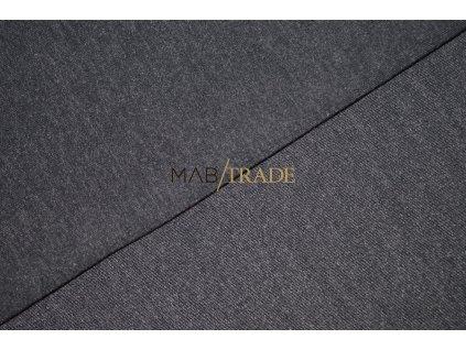 Elastická teplákovina - melír - Šedo fial. Kód 4217-5109