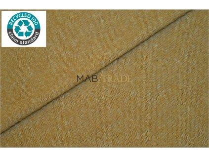 Svetrovina odlehčená s obsahem recyklovaných přízí - Camel Kód 6415-1702