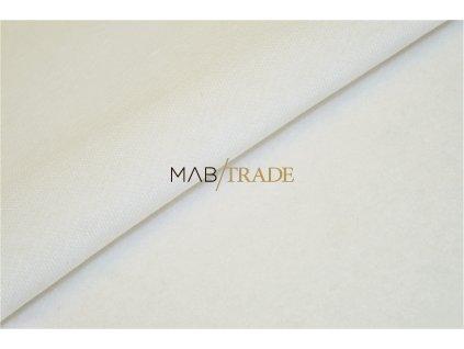 Teplákovina Ba/Pes počesaná Bílá  Kód 4220-0101