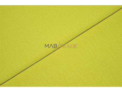 Elastická teplákovina Viskózová  Silky Žlutá Kód 4230-1350