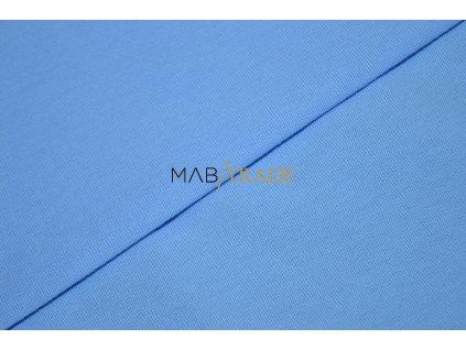 Bavlněný úplet - jednolícní 100% Ba sv. Modrá Kód 2800-1802/C