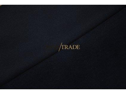 Jemně elastická teplákovina  100% Ba počesaná tmavě Modrá Kód 4223-2004