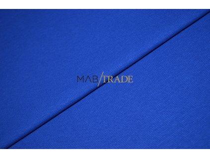 Bavlněný úplet - RIB 1x1 silný královsky Modrá Kód 6221-1902