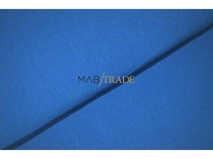 Bavlněný úplet - jednolícní Modal královská Modrá Kód 2500-1901