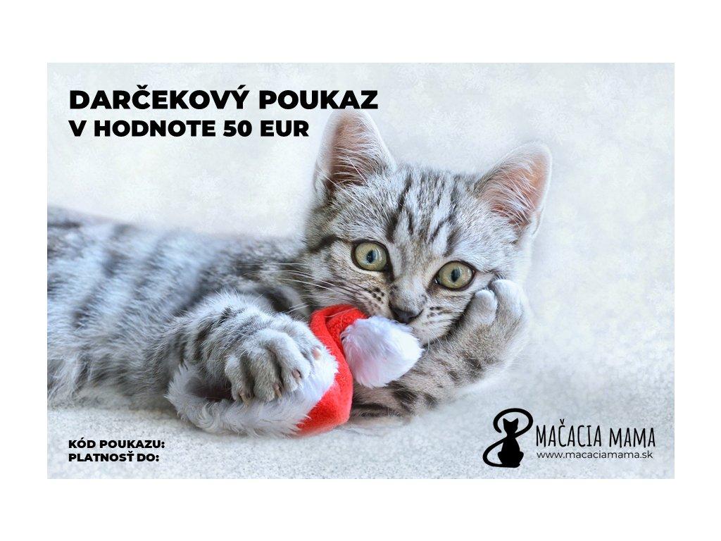darčekový poukaz e shop Mačacia mama 2