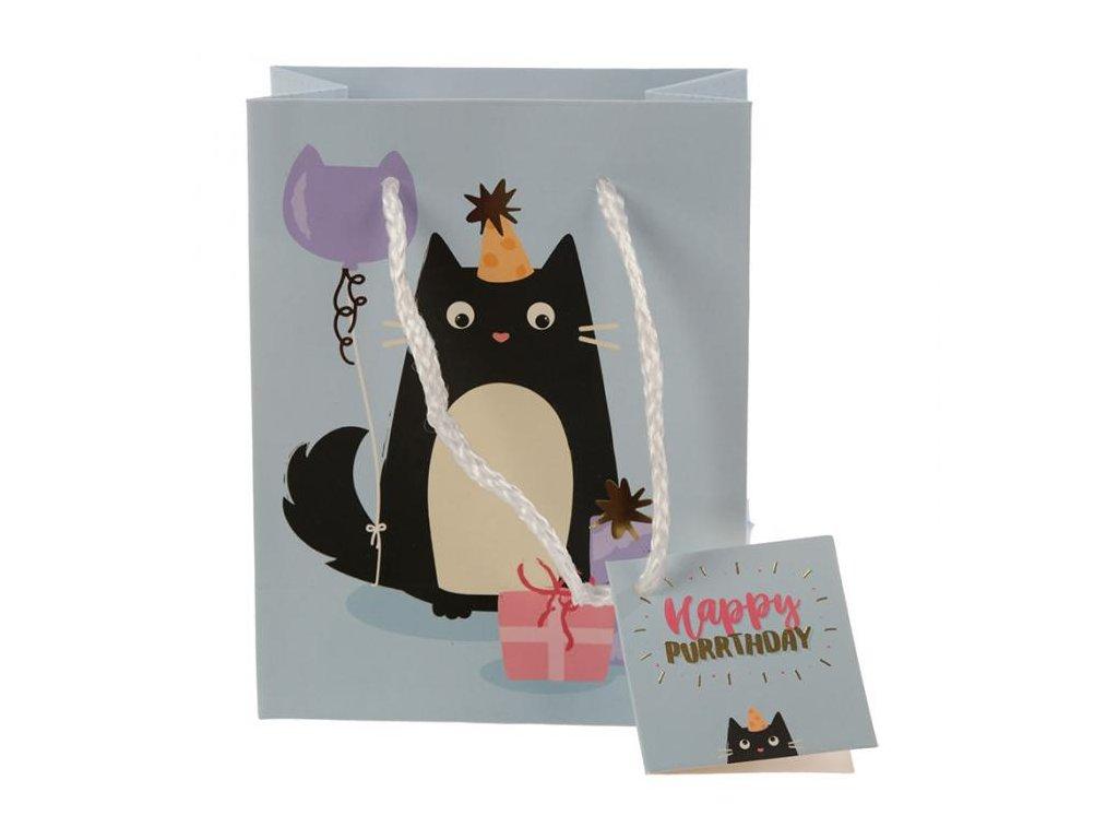 dárková taška kočka narozeniny kočičí 3